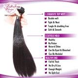 Silk Straight Unprocessed Indian Vrigin Extensão do cabelo humano