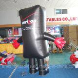 Facendo pubblicità al costume mobile della mascotte del telefono di modello gonfiabile da vendere