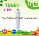 cartucho de toner 6110d/6210d para Rioch MP1060/1075/2060/2075/5500/6000/6500/7000/7500/8000/8001/9001/9002