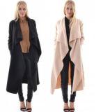 Кардиган женщин европейской новой куртки Windbreaker тавра длинний