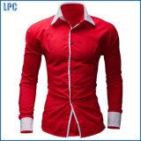 Рубашка хлопка оптового горячего надувательства дешевая