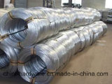 Fio de ferro galvanizado quente-mergulhado Fio de ligação do fio de ligação para Fábrica de construção Fornecimento direto