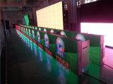 Visualizzazione di LED esterna di perimetro P8 di sport con RGB