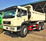 Caminhão de descarregador usado 6X4 da descarga do Tipper de China FAW (RHD)