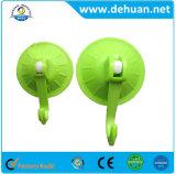 Casa de Banho Dehuan PVC removível da parede do gancho da Ventosa