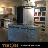 아파트 주문 침실 가구 단단한 나무 옷장 및 부엌 Tivo-011VW
