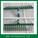 Головка сгребалки сада головного высокого качества сгребалки железнодорожная стальная