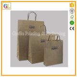 Les sacs en papier bon marché faits sur commande bon marché de Papier d'emballage vendent en gros