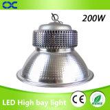 Luz industrial de la bahía de la iluminación 200W LED del poder más elevado LED alta