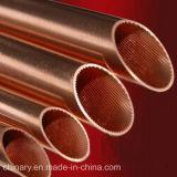 Tubes en cuivre (rainuré à l'intérieur), pour la réfrigération, l'air, le tuyau en cuivre