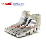 Precisie CNC die de Platen van de Hoek van de Kleur met Gat machinaal bewerken