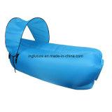 Sofá inflável relaxante para arrasto para ar com canopy