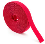 Velcro Cable Tie Colors Tamanho personalizado Red Black Color