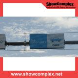 옥외 풀 컬러 P10 임대 발광 다이오드 표시 스크린