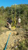 اثنان يشغل رجل [هف150] ماء بئر يحفر جهاز حفر