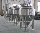 Tank van de Gister van de Jasjes van de Glycol van het roestvrij staal 1bbl -300bbl de Kegel