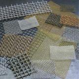 Гальванизированная сетка волнистой проволки/сплетенная ячеистая сеть
