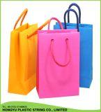 Популярные веревочки хозяйственной сумки полиэфира нового продукта с концом еды
