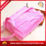 Badjassen voor Robe van het Bad van de Vacht van de Badjas van de Kleur van het Meisje van Dames de Volledige