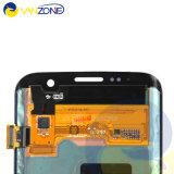 SamsungギャラクシーS7端LCD、接触のSamsung S7の端LCDスクリーンのためのLCDのための100%の元の新しい到着