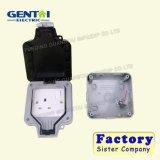 IP66 1gang 2gang Boîtes imperméables en plastique à haute qualité