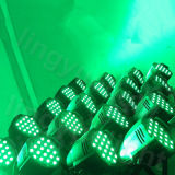 De LEIDENE van het PARI van het Stadium 54X3w van de Apparatuur RGBW van DJ Lichten van het Effect
