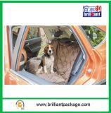 Protezione molle del cane del Hammock della stuoia dell'automobile del coperchio di sede posteriore dell'automobile dell'animale domestico del Brown