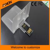 Karten-Form transparentes USB-Blitz-Laufwerk