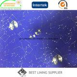 Sternenklarer Himmel gedrucktes Muster für Umhüllungen-Zwischenlage-Futter-Gewebe der Männer