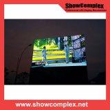 Visualizzazione di LED esterna completa dell'affitto di colore P3