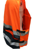 ANSI & En20471 High Visibility Class 2 Military and Muli-Fuctional Reflective Safety Vest From Factory