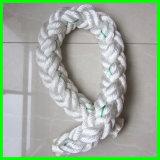 cuerda flotante trenzada Double- de la amarradura de 112m m Nylon/PE/PP/UHMWPE