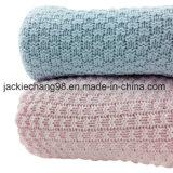 Câble 100% coton tricotés Couverture Bébé