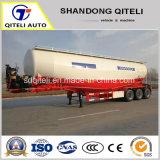 3 ESSIEUX Transporteur de vrac ciment remorque de camion/poudre Réservoir de matériau semi-remorque