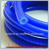 Tubo di gomma sporto del silicone di rinforzo con vetroresina