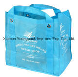 Eco Friendly Reuable promotionnelles grand noir Non-Woven sac fourre-tout en polypropylène