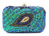 Borsa calda Eb854 della frizione del partito del sacchetto di sera delle 2017 del serpente donne del reticolo