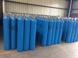 O cilindro de gás de alta pressão do hélio do diâmetro de 40L 150bar 219mm