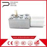 Motor do redutor da engrenagem da C.C. para a porta elétrica
