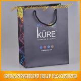 Изготовленный на заказ мешок подарка бумаги покупкы печатание (BLF-PB002)