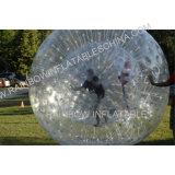 Inflable bola de bolos, colorido hierba Fútbol bola de Zorb, parachoques inflable Rolling Ball, inflable bola de bolos