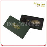 Tag chave de couro artificial de boa qualidade com costura branca
