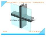 El marco de la alta calidad utilizó la pared de cortina