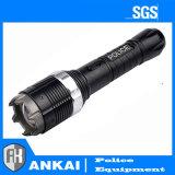 Foco ajustable de la policía de metal LED recargable Linterna Stun Gun
