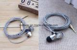 Écouteurs en métal de haute qualité avec microphone