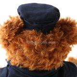 연약한 아이들 견면 벨벳 장난감이 주문 박제 동물 장난감 곰에 의하여 농담을 한다