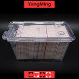Владельца карточки таблицы покера казина Макао/коробка для свода карточки пакета перфокарт 8 палубы играя нормального или Scrub выбирают Ym-Dm01