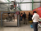 Machine d'emballage pour aliments frits