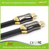 고품질 나일론 끈 금속 쉘 1.4/2.0 4K/2160p HDMI 케이블