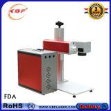 Máquina portátil do marcador do laser da fibra para o cobre/alumínio/metal/metalóides